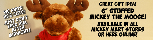 Stuffed Mickey The Moose toy