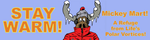 Stay Warm With The Moose