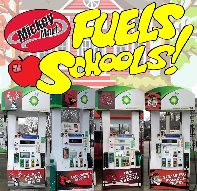 Mickey Mart Fuels Schools