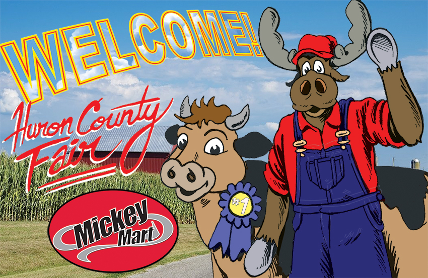 Mickey Mart at the Huron County Fair