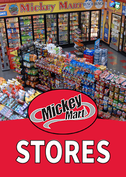 Mickey Mart Locations