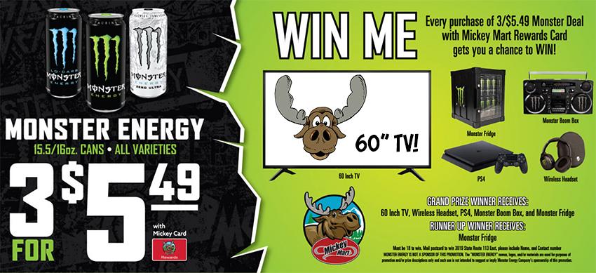 Mickey Mrt Monster TV Contest