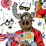 Mickey's Lotsa' Laughs #1  – New Mickey the Moose Comic Awesomeness!